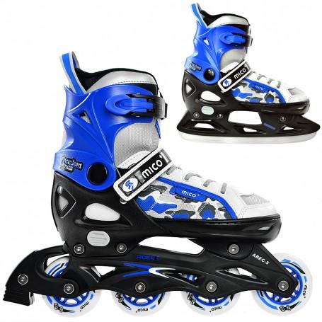 Skates for Kids MICO RIDER II 2in1