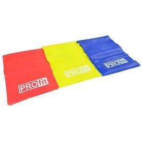 Fitness rubber tape PROFIT 200x15cm 3 pcs