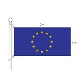 European Union flag (flag mast) 2x1m