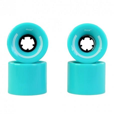 Skateboard wheels Mico 60x45mm 4pcs
