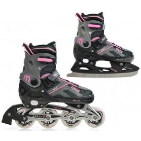 Skates for Kids MICO FLOS GIRL 2in1