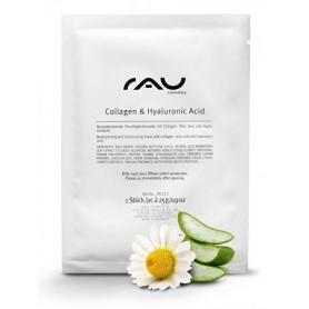 """RAU Collagen & Hyaluronic Acid Fleece Mask"" sejas maska"