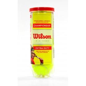 WILSON CHAMPIONSHIP WRT100101 3 pcs tenisa bumba