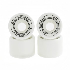 Skateboard wheels SMJ 60x45mm 4pcs