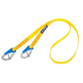 Double Action Safety line (with 2 hooks)